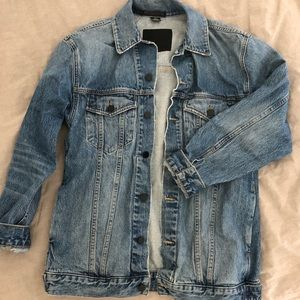 Alexander wang denim jacket daze